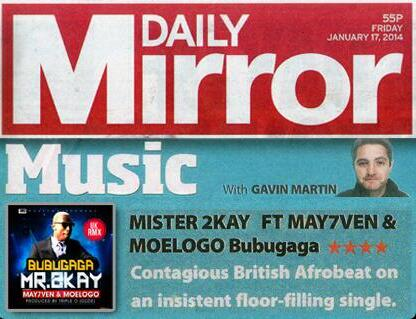 daily mirror mr 2kay