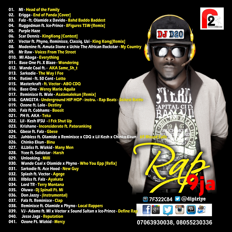 DJ D20 - RAP9JA B