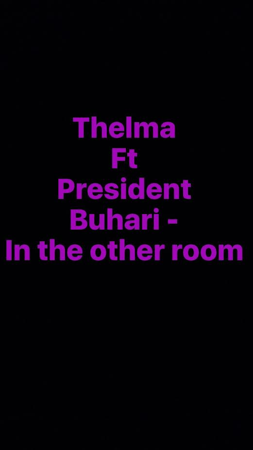 Cleo Thelma ft. President Buhari – In The Other Room - Novice2STAR