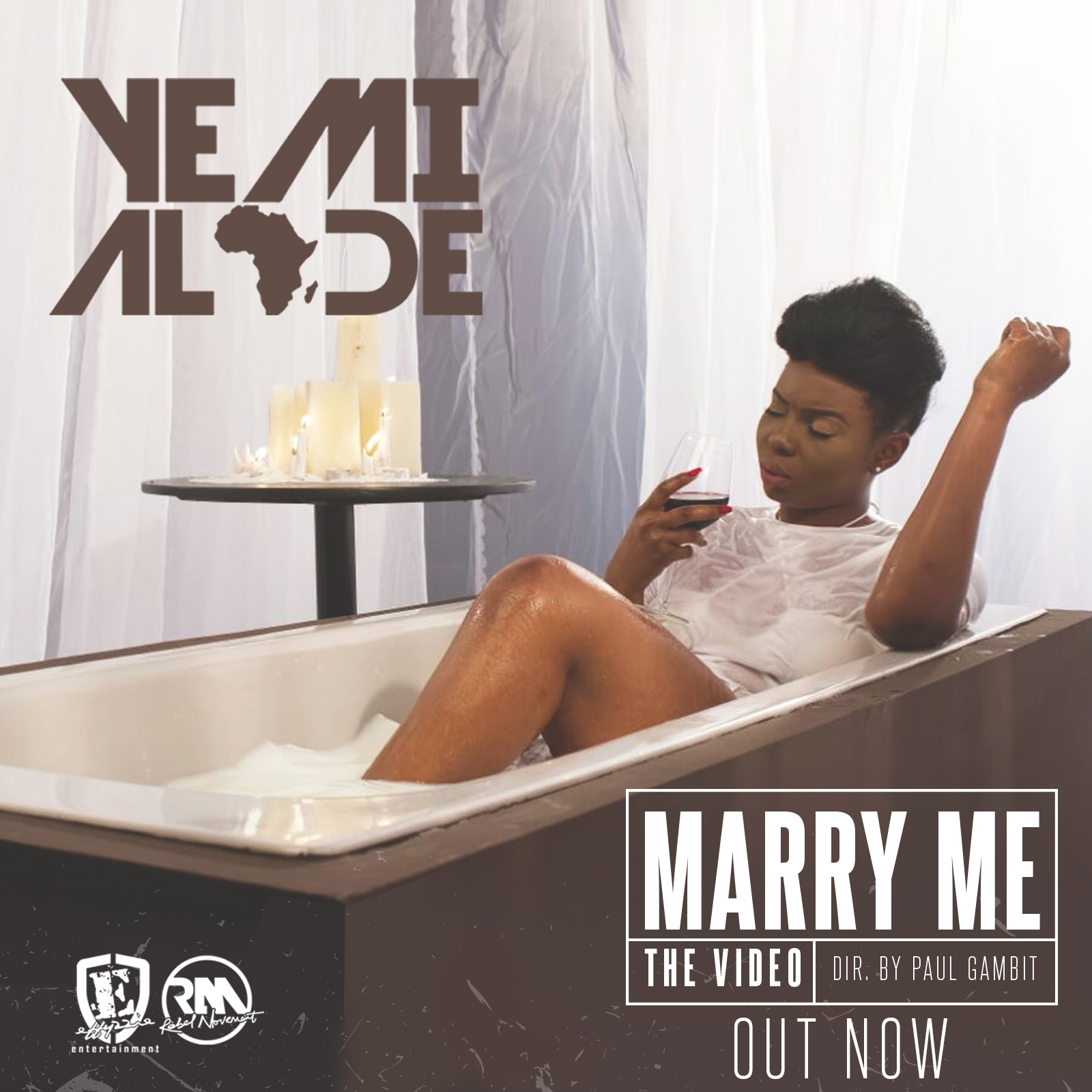 yemi alade marry me video artwork