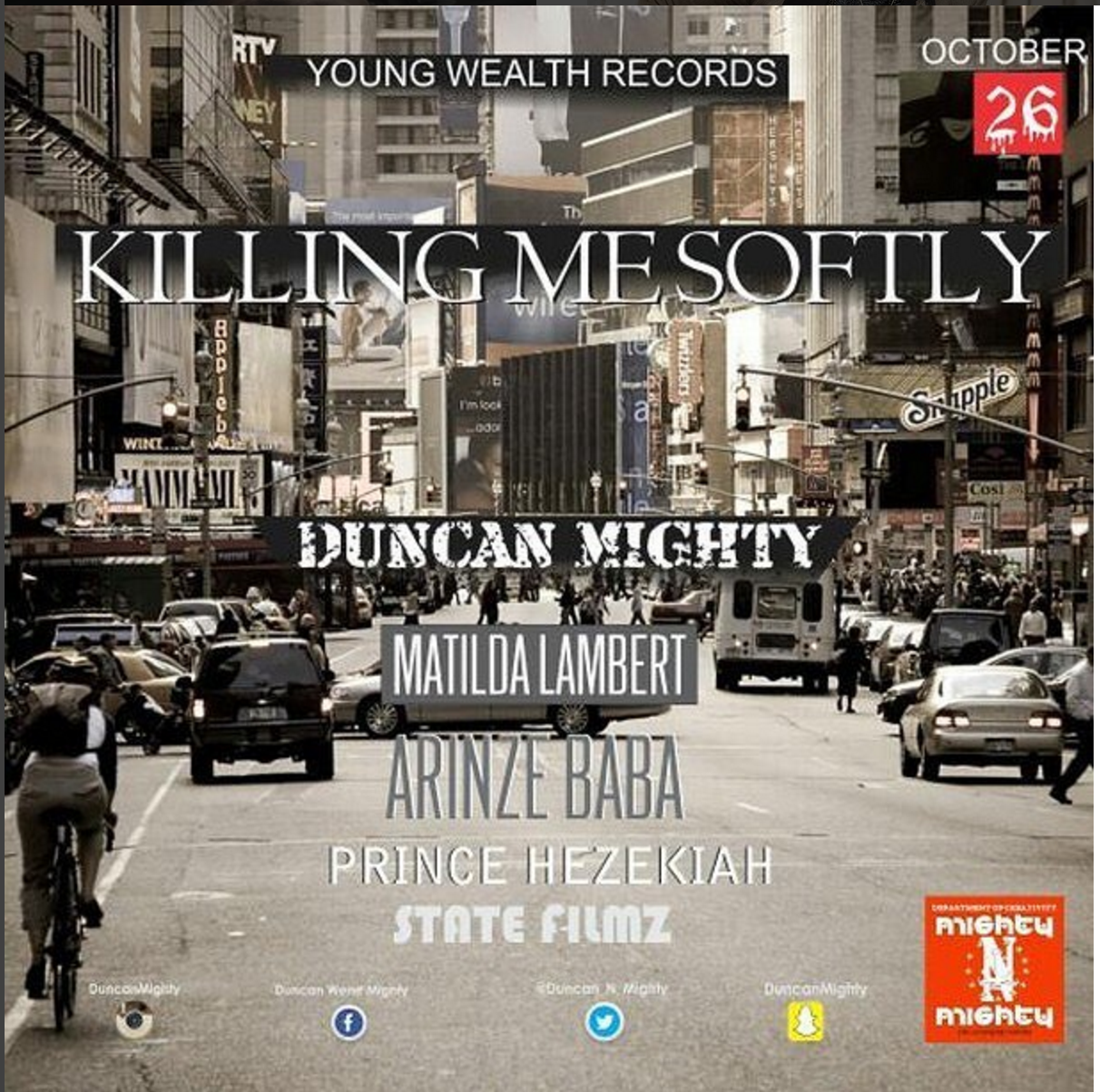 duncan mighty killing me softly
