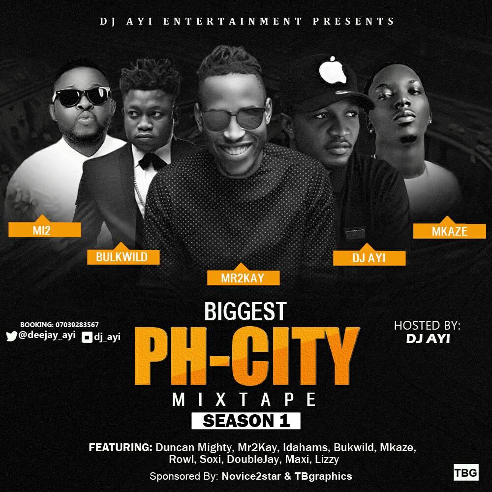 DJ Ayi Biggest PHcity Mix