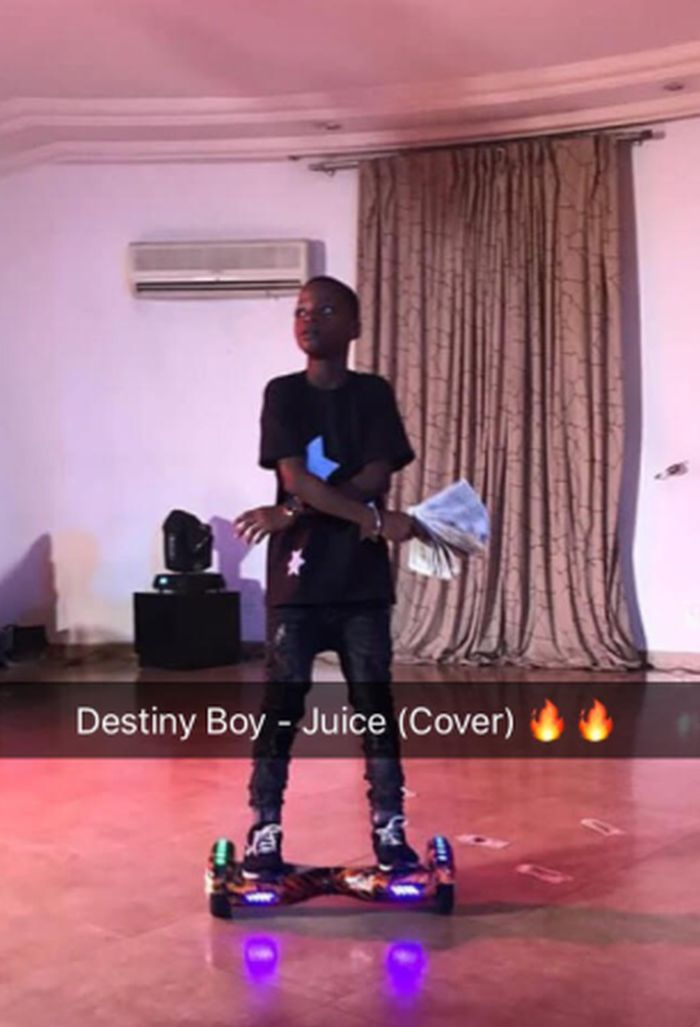 Destiny Boy Juice