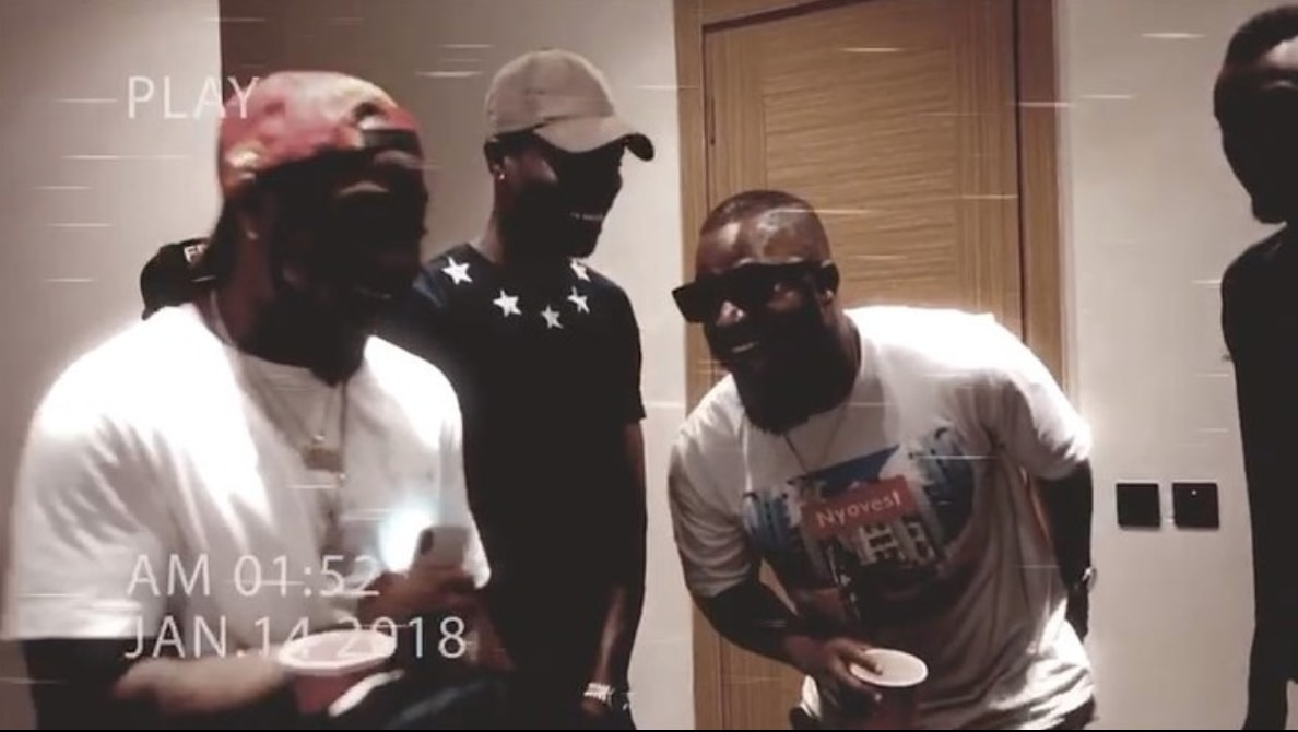Cassper Nyovest And Davido Just Recorded A Hit Song  Together [WATCH VIDEO]