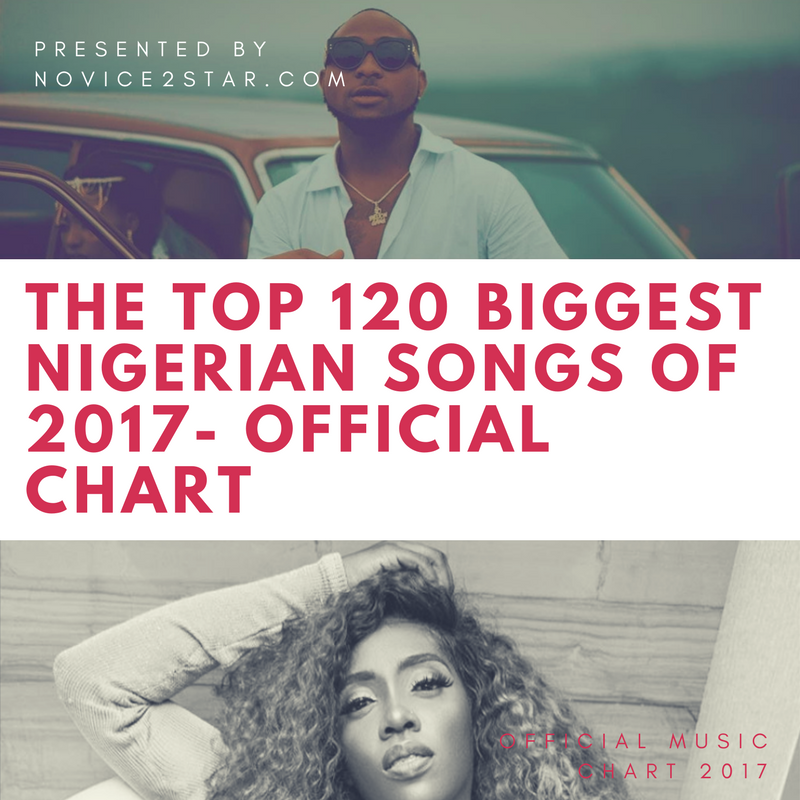 The Top 120 Biggest / Hottest Nigerian Songs Of 2017 - Official Chart