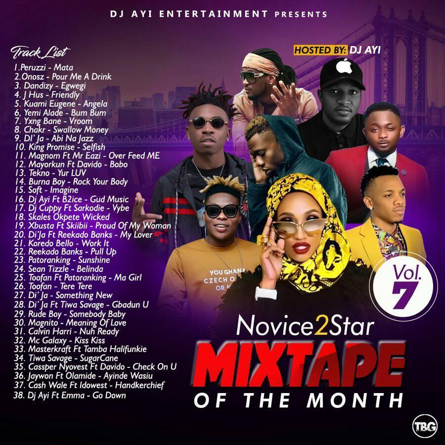 Novice2STAR x DJ Ayi Presents – April Naija Mixtape