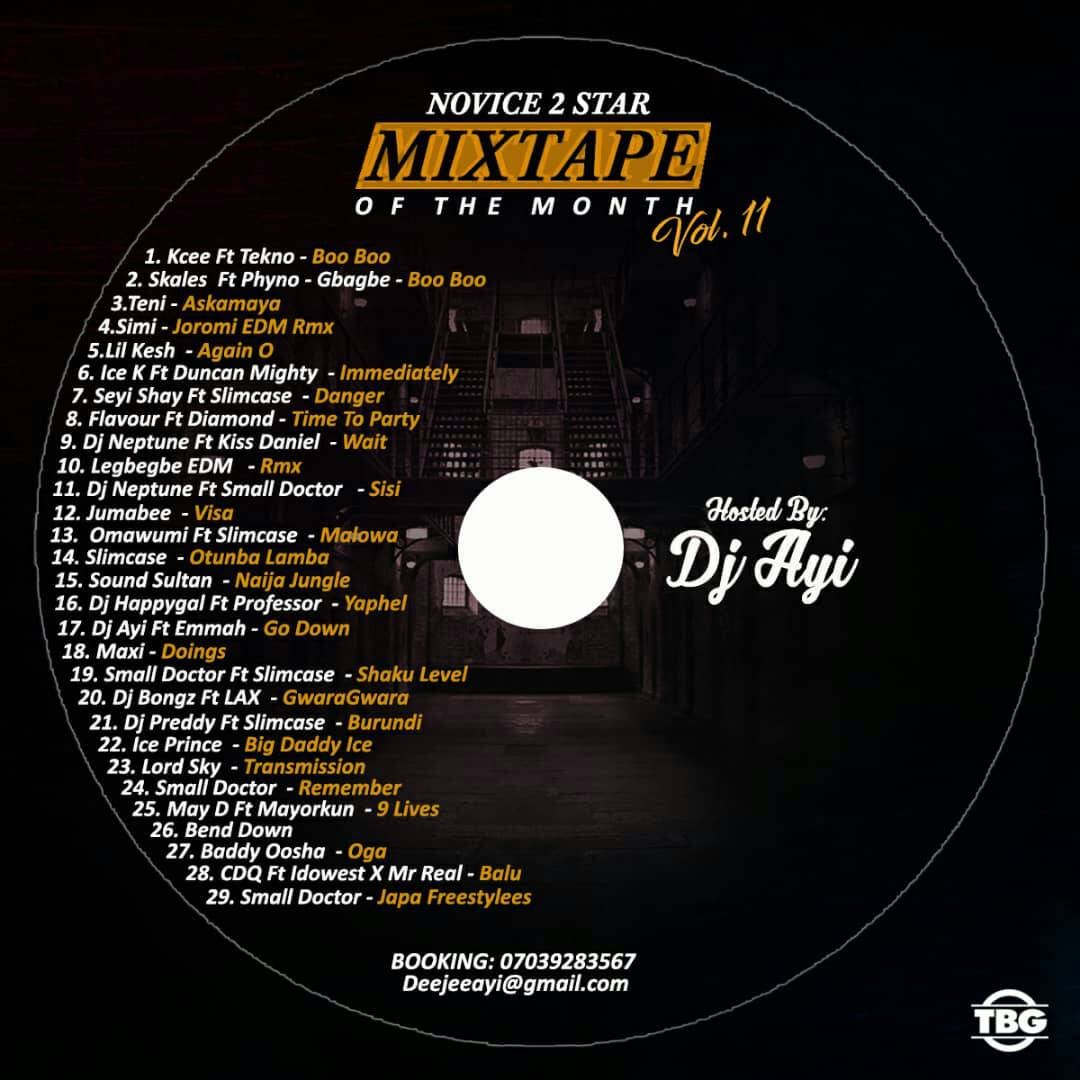 Novice2STAR x DJ Ayi – August Naija Mixtape