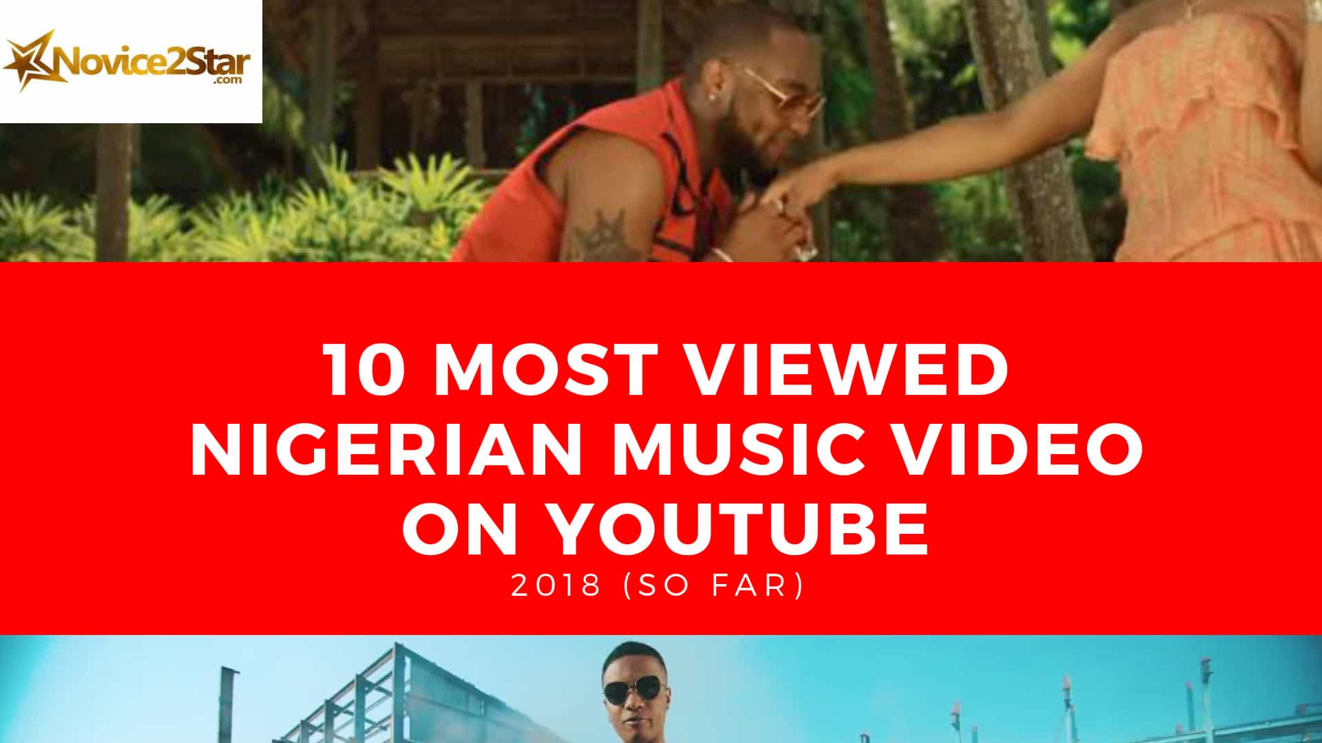 10 Most Viewed Nigerian Music Video On Youtube 2018 So Far Novice2star