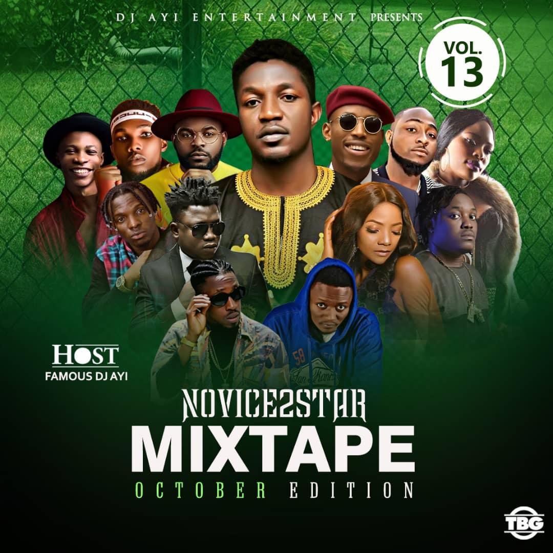 Novice2STAR x DJ Ayi – October Naija Mixtape