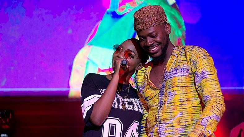 Image result for Adekunle gold and simi