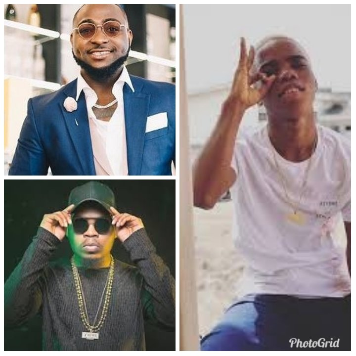 Davido Pissing On Olamide OR Just Being Generous To Lyta ?
