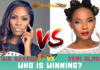 Tiwa Savage VS Yemi Alade who is winning