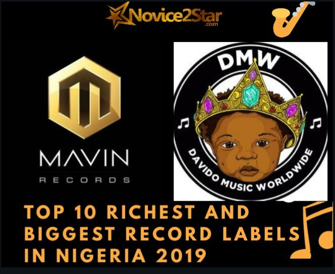 Top 10 Richest and Biggest Record Labels In Nigeria 2019 (Updated 2019 Statistics)