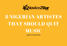 8 Nigerian Artistes That Should Quit Music