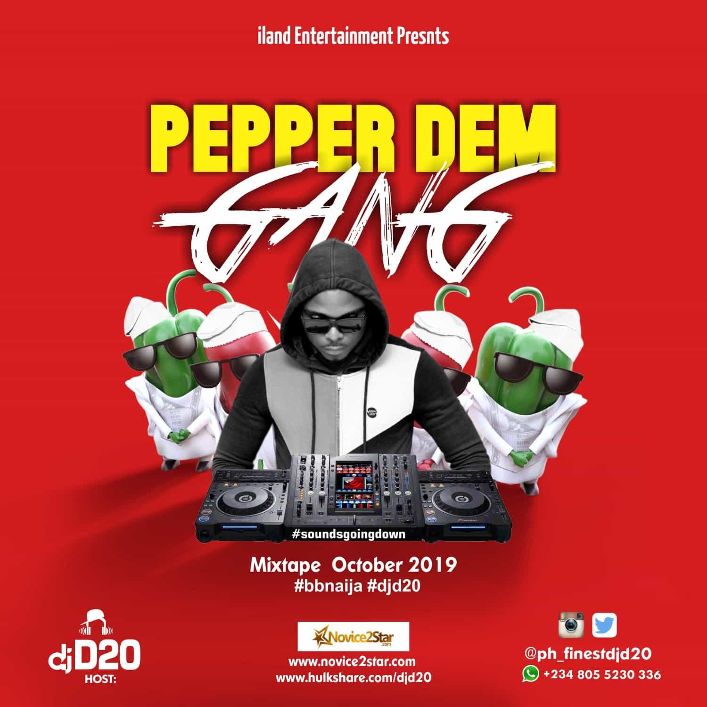 DJ D20 - Pepper Dem Gang Mix
