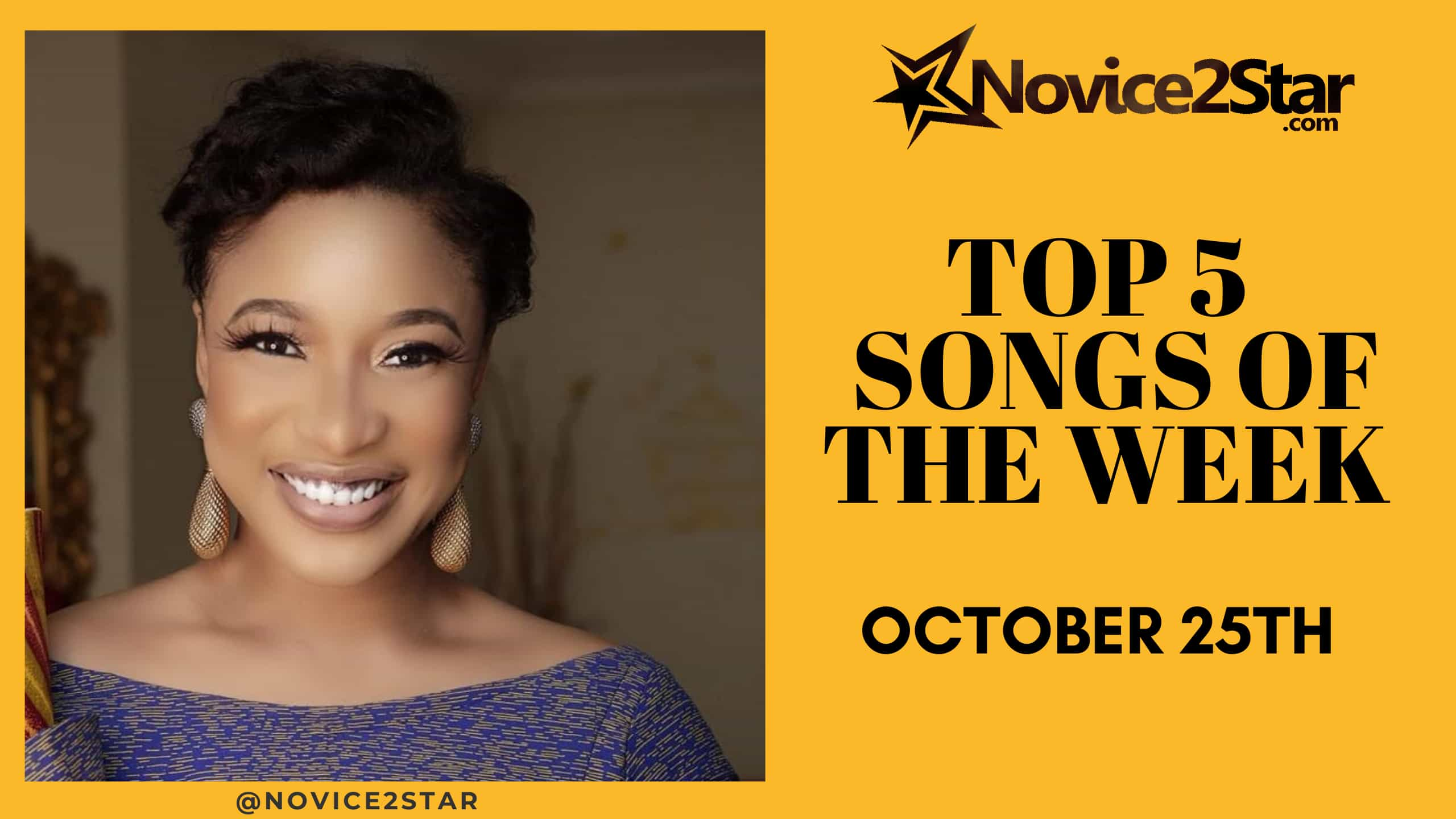Top 5 Nigerian Songs Of The Week – October 25 2019 Chart