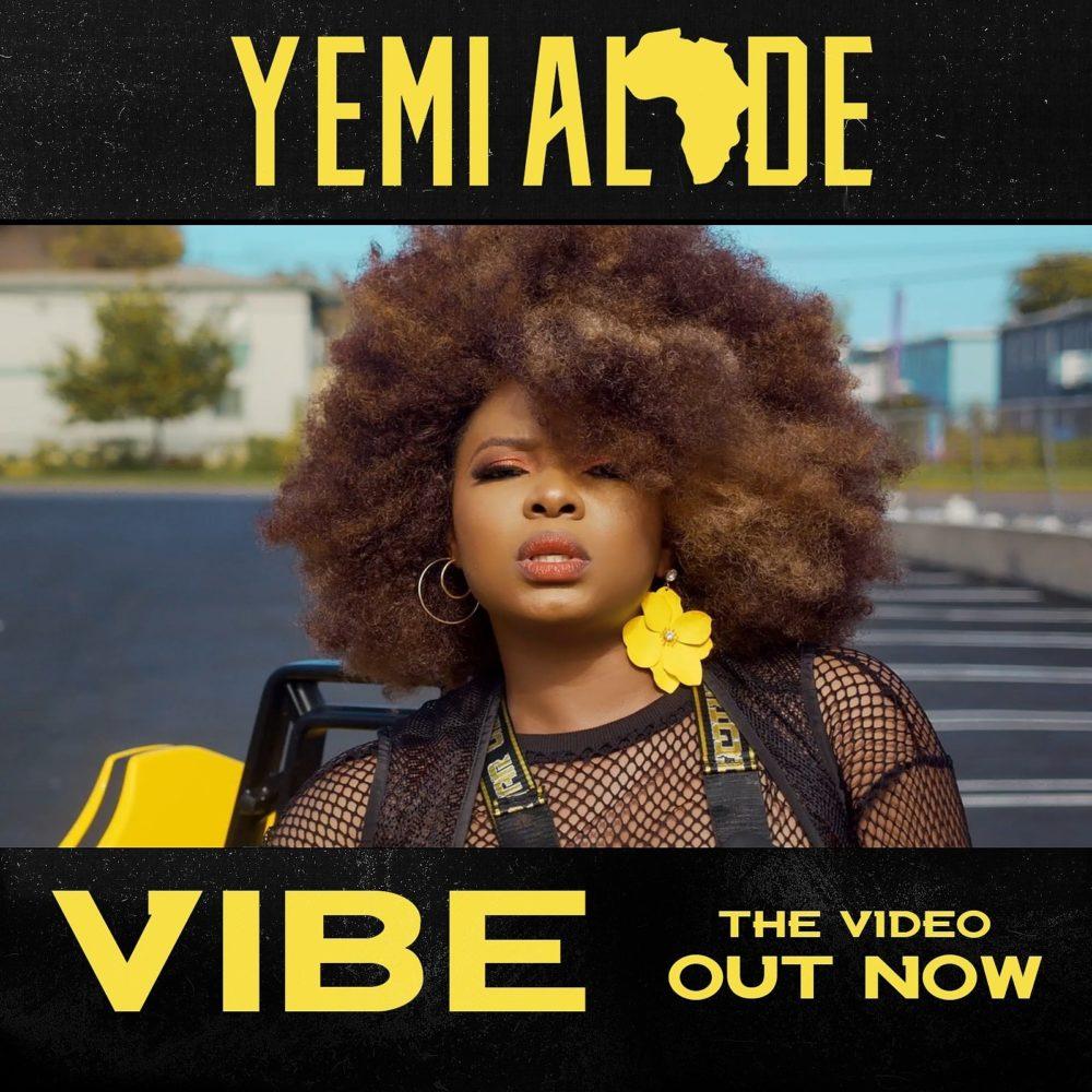 Yemi Alade Vibe video