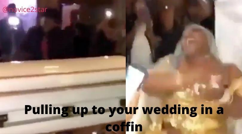 Bride IN A COFFIN