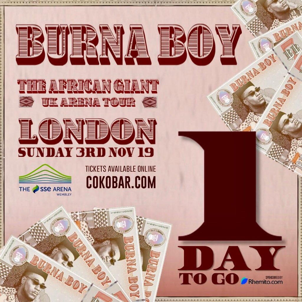 Watch Burna Boy Livestream 02 Arena London