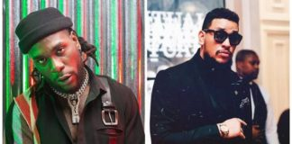 South African rapper, AKA comments on Burna Boy's Grammy Award loss