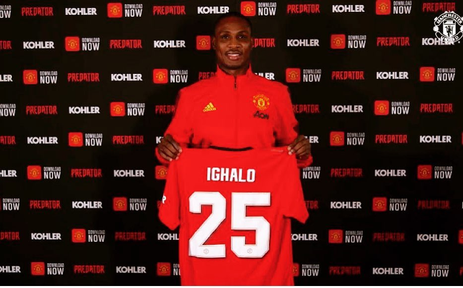 Odion Ighalo to Manchester