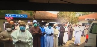 pictures from abba kyari burial