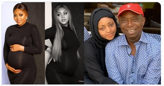 regina daniels pregnant for ned nwoko