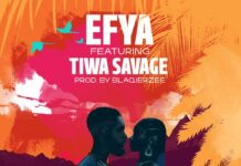 "Efya ""the one"" featuring Tiwa Savage"
