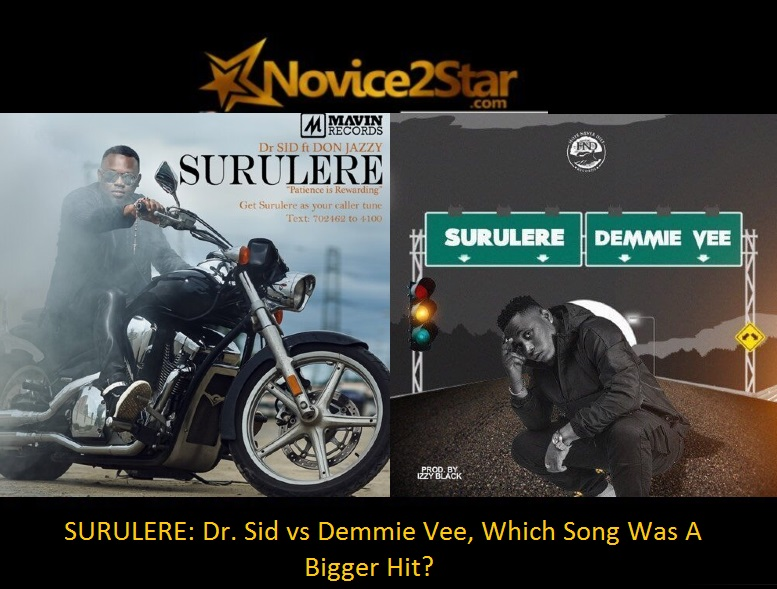 SURULERE: Dr. Sid vs Demmie Vee, Which Song Was A Bigger Hit?