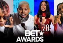 BET Awards 2020: See The Full Winners' List
