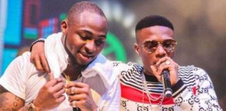 (Video) Davido Showers Wizkid Praises on His Birthday, Calls Him The G.O.A.T