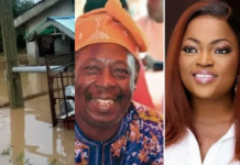 Funke Akindele Gives Pa James A House After Flood Chased Him Out