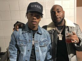 Davido And Lil Baby Seen Doing a Video Shoot Together in USA (VIDEO)