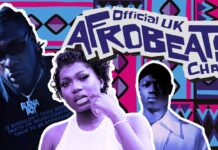 First Official Afrobeats Chart Of The UK Begins July 26