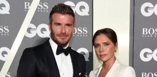 Ex Manchester Unted Player, David Beckham, Celebrates 21 Years With His Wife