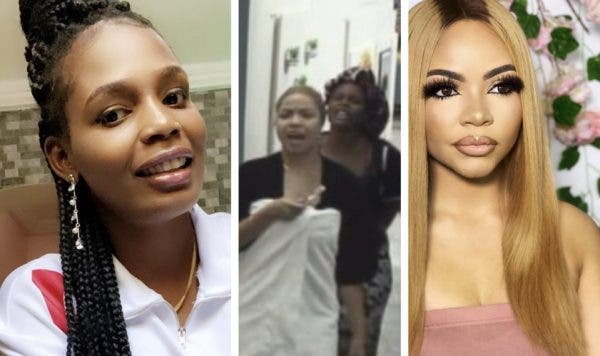 """Go And Fix Your Face Like You Did Your A**"" - Kaisha Tells Nengi As They Fight Dirty In The House Over Hot Water (VIDEOS)"