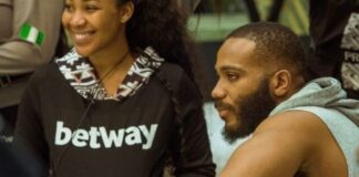 (18+) Moment When Erica Grabbed Kiddwaya's D*ck While He Screams As They Play (VIDEO)
