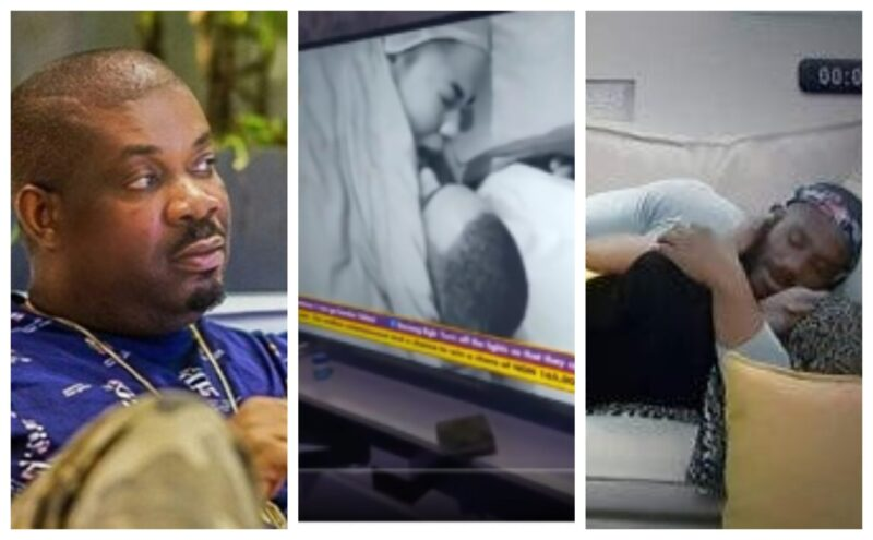 Don Jazzy reacts To Kiddwaya and Erica S*x Clip. Says He Likes Erica's Moaning Face