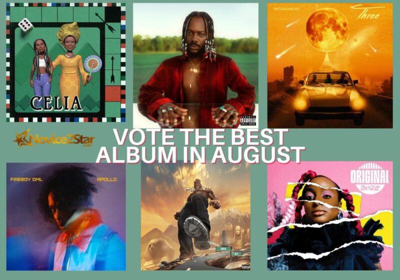 Best nigerian album in august 2020