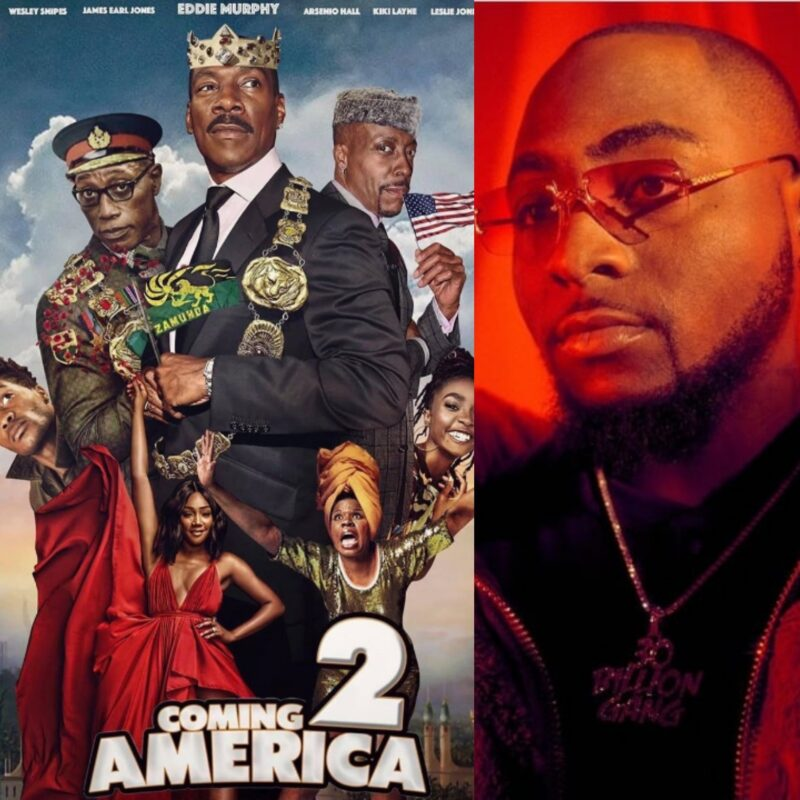 Davido in Coming to America 2