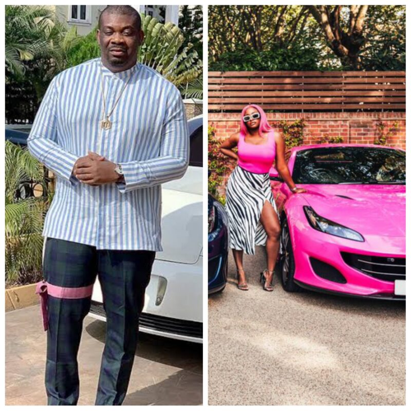"""My Dear Sp*rm, I Never Born You Yet, But This Kind Enjoyment Dey Wait For You"" Don Jazzy Reacts To The Otedolas New Ferraris"