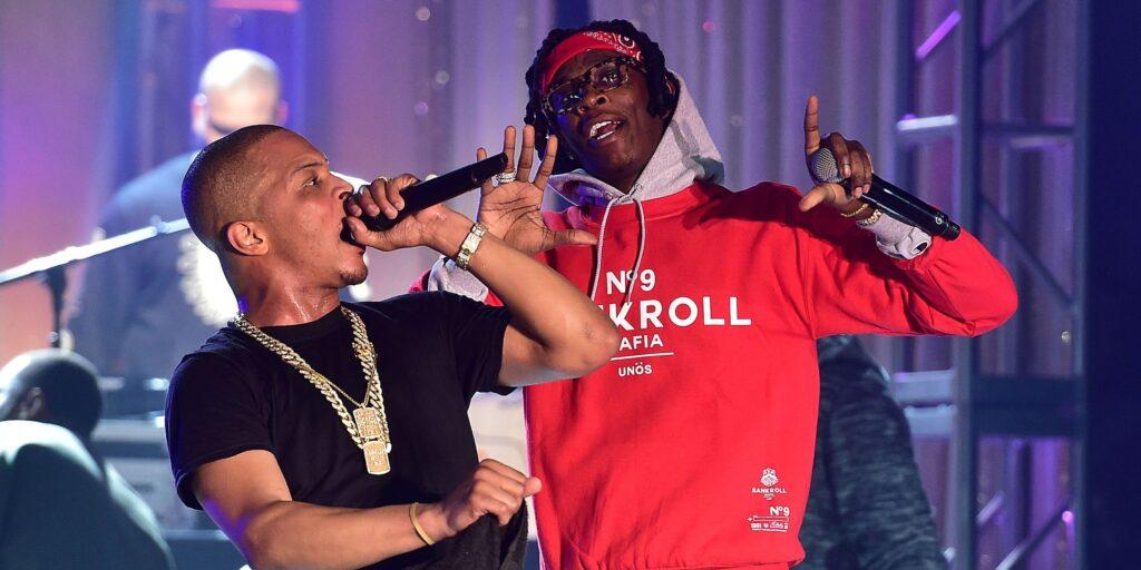 T.I and Young thug
