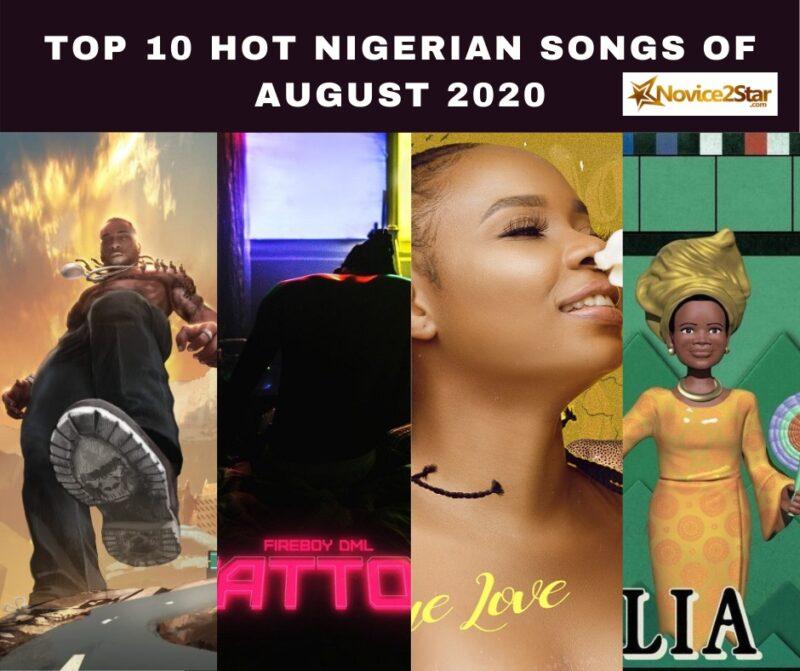 top songs in August Nigeria