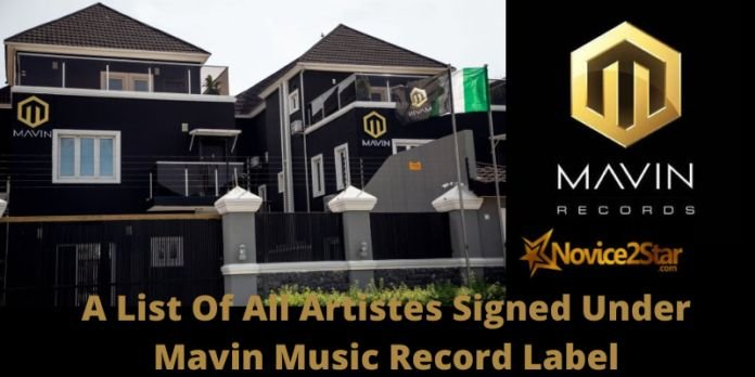 A List Of All Artistes Signed Under Mavin Records