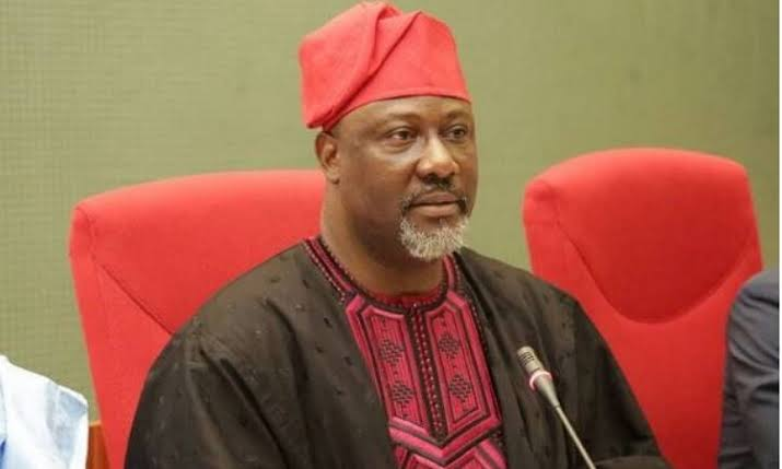 Senator Dino Melaye Gifts Some Member Of His Staff 55 Inches Television