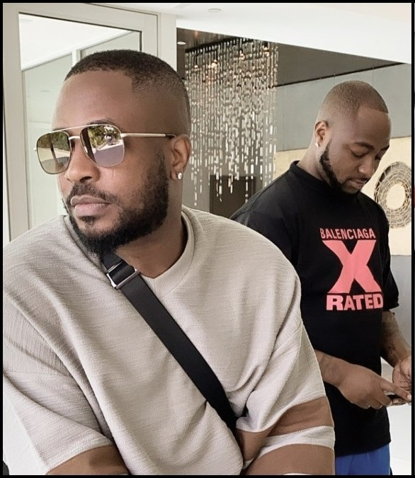 Davido S New Song Paused Big Brother Naija Tunde Ednut Novice2star In an instagram post, the singer shared a picture of the cross dresser jumping over the fence in handcuffs. davido s new song paused big brother