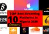 Top 10 Best Streaming Music Platforms In Nigeria