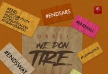 "Orezi - ""We Don Tire"" [Audio]"