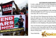 #EndSARS: Twitter User Cries Out After Company Suspends Him Indefinitely For Coming Out To Protest