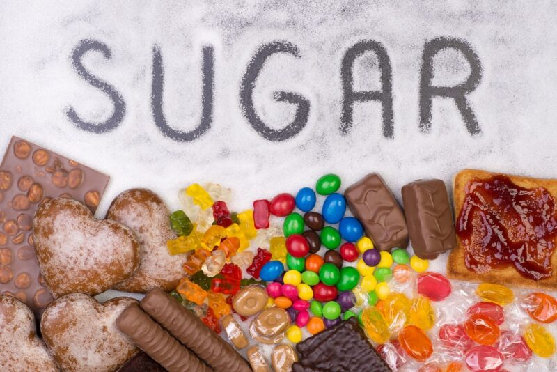 Sources of added sugar